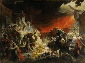 Le dernier jour de Pompéi - Le dernier jour de Pompéi par Karl Pavlovich Bryullov.