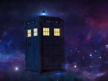 The Tardis - The Tardis from Doctor Who