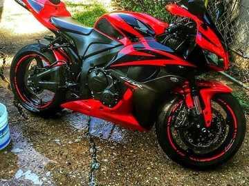 Motocykl Hondy - Piękny motocykl Hondy