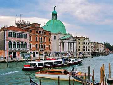Image from Venice, Italy - boat on water near buildings during daytime. Venice, Metropolitan City of Venice, Italy