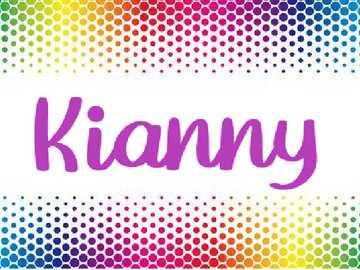 Rompecabezas Kianny - Rompecabezas de los nombres
