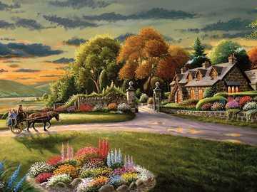 Proprietà dipinta - Puzzle: proprietà dipinta.