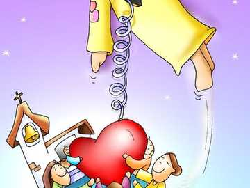 Catechesis: Sacred Heart of Jesus_5_6_-year-olds - Additional materials for catechesis - Heart of the Lord Jesus.