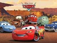 Voitures - Moteurs rugissants - Puzzles sur les voitures de cinéma d'animation