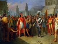 Spanische Eroberung Amerikas - Erklären Sie den Prozess der spanischen Eroberung des Inka-Reiches in der Krise und den Widerstand