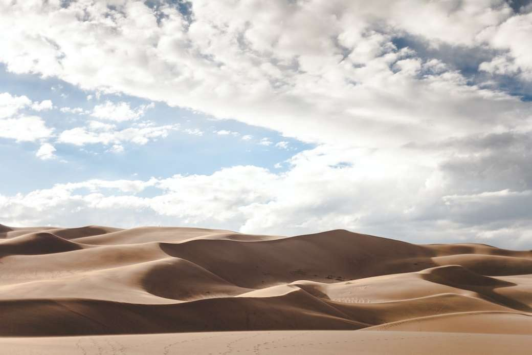 Pustynne wydmy w Nowym Meksyku - fotografia krajobrazowa pustyni. Nowy Meksyk, Stany Zjednoczone