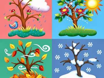 LE STAGIONI - Disporre le stagioni in base al modello