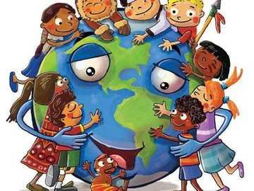 Świat i międzykulturowość - Wszystkie dzieci na świecie są przyjaciółmi, nie jest możliwe, że myślą, że ponieważ pocho