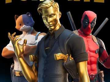 Fortnite- Midas, Meowscles e Deadpool - È così bello che fortnite è il miglior gioco che non ci dà conoscenza ma va bene
