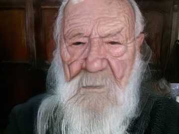 THE OLD DRUID - 65 YEARS OLD PICTURE CREATED BY FACEAPP