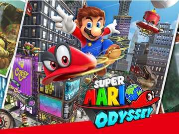 Super Mario Odysey - Przejdźmy do przygody
