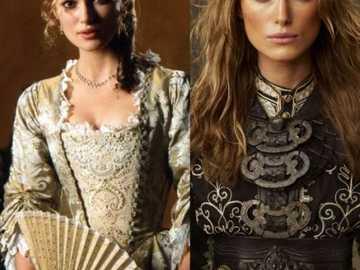 different angles of elizabeth swann - shows both good and bad sides of Elizabeth Swann played by Keira Knightley