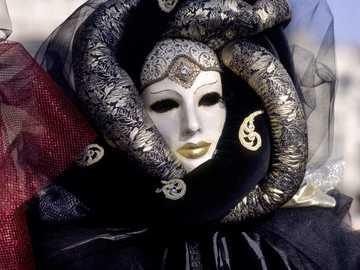 Carnival Mask - mask worn at the carnival