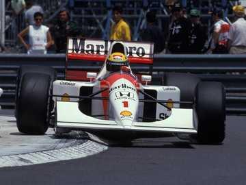 Mistrz mistrzów - Ayrton Senna da Silva