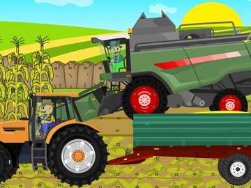 Traktor dla Natana - Traktor i kombajn dla Natanka
