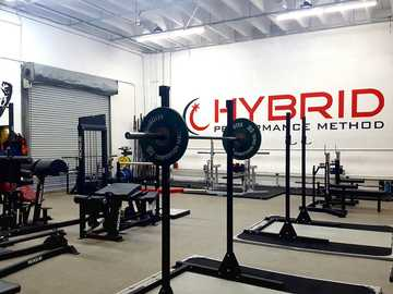 equipo de gimnasio dentro de la habitación - El Hybrid Performance Method Gym es mi lugar favorito en Miami para levantar pesas y hacer ejercicio