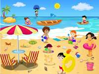 Летен плаж