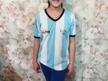 Joyeux jour du drapeau argentin - Ma photo avec la chemise Argentine