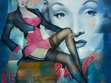 Marlene Dietrich - Marlene Dietrich, actriz, El ángel azul
