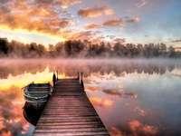 Изгрев на езерото