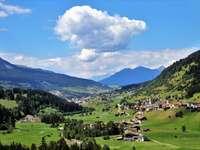 панорама на Алпите
