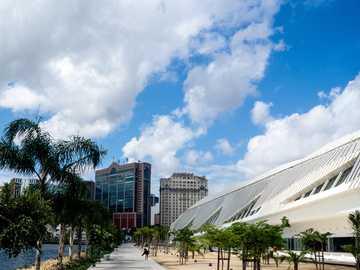 Panorama de la ciudad - Museo moderno de rio de janeiro