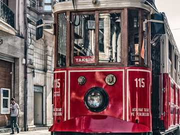 Streetcar :) - Red tram across the world