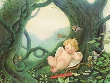 Sleeping cupid - Cupid sleep peacefully