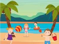 Tengerparti nyaralás a tenger mellett