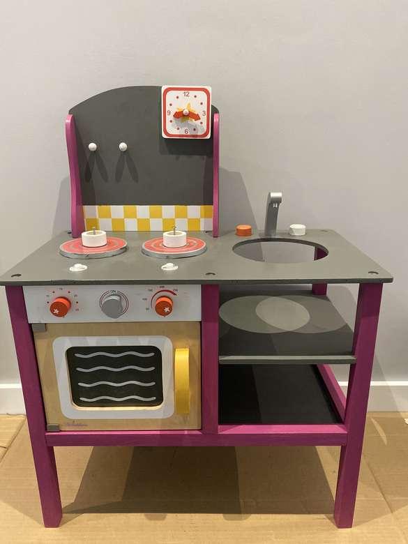 Електрическа печка за деца - Играчка. Фурна и печка за малки готвачи (6×8)