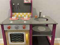 Electric stove for children