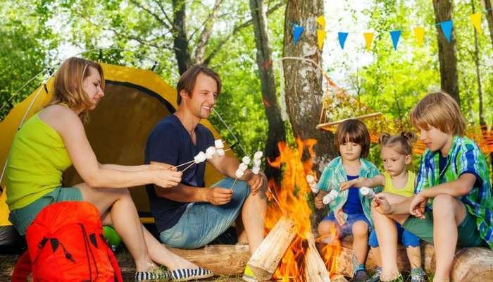Къмпинг със семейство - къмпинг със семейство в гората (4×2)