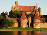 Castelo em Malbork