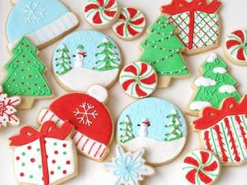 Diversión de navidad - Un divertido juego de galletas de verano.