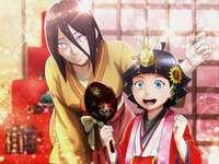 Himawari e sua zia