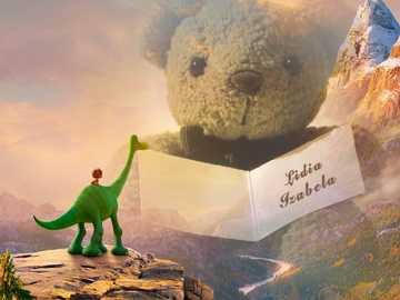 "a good dinosaur - from the book series ""Good Dinosaur"""