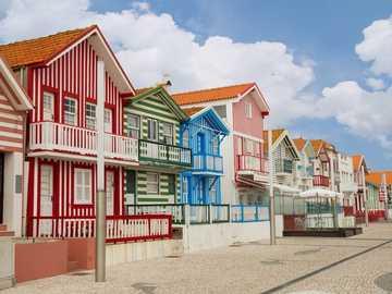 Costa Nova - maisons rayées - Costa Nova Aveiro - Portugal