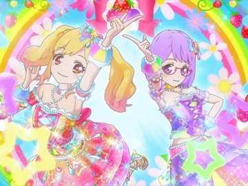 Star Rainbow Happiness pour vous - Rainbow Berry Parfait 的 品 牌 秀。 服裝 : Coord Couleur Ruban Rose 、 Coord Ruban Couleur