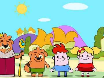 Żarówka i słodycze - Żarówka i puzzle Candy dla dzieci kilka sztuk