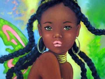 Light-eyed brunette hadita - Light-eyed brunette hadita.