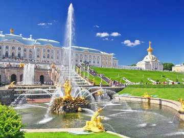 дворец Петерхоф - дворец Петерхоф - Санкт Петербург
