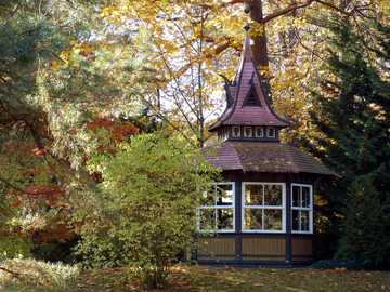 On the island of Usedom - landscaped park -----