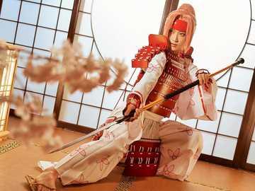 A beautiful warrior - A beautiful Japanese warrior