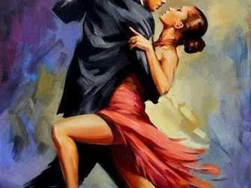 Tancerze tanga - Wyprodukowano w Argentynie. tancerze tanga
