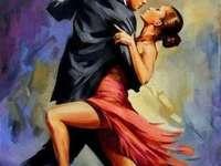 Dansatori de tango