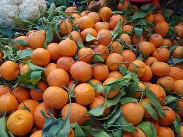 Naranjas - Naranjas en el mercado
