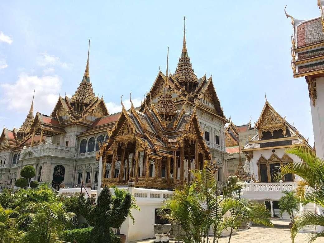 palace in Bangkok - the Grand Palace in Bangkok, Thailand