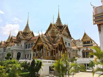 Palast in Bangkok - der Grand Palace in Bangkok, Thailand