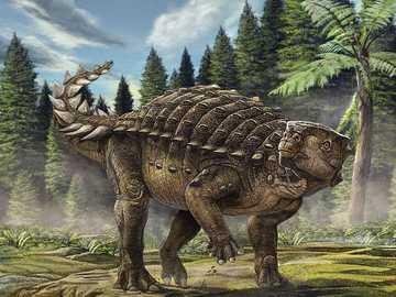 Barbed Dinosaur - Barbed dinosaur very pointed