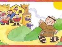 San francisco - rompecabezas para niños de 3 a 6 años